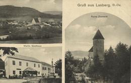 Austria, LASBERG, Walds Gasthaus, Ruine Dornach (1910s) Postcard - Autres