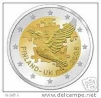 @Y@   Finland  2  Euro  2005  Commemorative  UNC - Finland