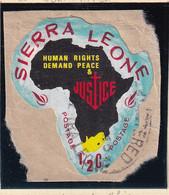 Sierra Leone: 1968   Human Rights Year    SG443   ½c  [B - South Africa]   Used - Sierra Leone (1961-...)