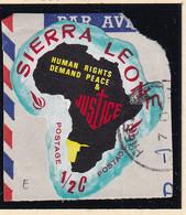 Sierra Leone: 1968   Human Rights Year    SG443   ½c  [E - South West Africa]   Used - Sierra Leone (1961-...)