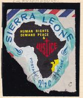 Sierra Leone: 1968   Human Rights Year    SG445   2½c  [C - Mozambique]   Used - Sierra Leone (1961-...)