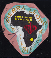 Sierra Leone: 1968   Human Rights Year    SG446   3½c  [D - Rhodesia]   Used - Sierra Leone (1961-...)
