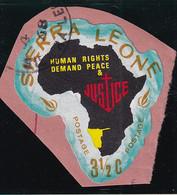 Sierra Leone: 1968   Human Rights Year    SG446   3½c  [E - South West Africa]   Used - Sierra Leone (1961-...)