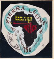 Sierra Leone: 1968   Human Rights Year    SG449   15c  [A - Portuguese Guinea]   Used - Sierra Leone (1961-...)