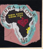 Sierra Leone: 1968   Human Rights Year    SG449   15c  [C - Mozambique]   Used - Sierra Leone (1961-...)