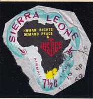 Sierra Leone: 1968   Human Rights Year    SG450   7½c  [B - South Africa]   Used - Sierra Leone (1961-...)