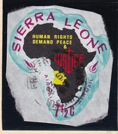 Sierra Leone: 1968   Human Rights Year    SG450   7½c  [F - Angola]   Used - Sierra Leone (1961-...)
