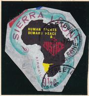 Sierra Leone: 1968   Human Rights Year    SG451   9½c  [E - South West Africa]   Used - Sierra Leone (1961-...)