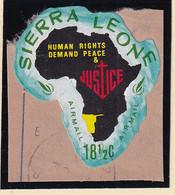 Sierra Leone: 1968   Human Rights Year    SG453   18½c  [E - South West Africa]   Used - Sierra Leone (1961-...)