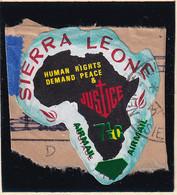 Sierra Leone: 1969   Human Rights - Surcharge    SG505   7½ On ½c  [D - Rhodesia]   Used - Sierra Leone (1961-...)