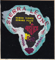 Sierra Leone: 1969   Human Rights - Surcharge    SG506   9½ On ½c  [F - Angola]   Used - Sierra Leone (1961-...)