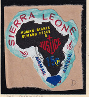 Sierra Leone: 1969   Human Rights - Surcharge    SG507   15c On ½c  [D - Rhodesia]   Used - Sierra Leone (1961-...)