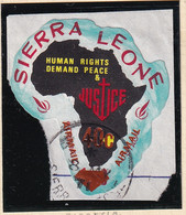 Sierra Leone: 1969   Human Rights - Surcharge    SG509   40c On ½c  [D - Rhodesia]   Used - Sierra Leone (1961-...)