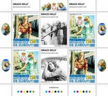 2020-11- DJIBOUTI- CINEMA GRACE KELLY II      4V  MNH** - Cinema