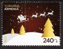 Armenia - 2020 - New Year And Christmas - Mint Stamp - Armenia