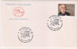 """Italia - 2003 - FDC Cavallino """"75° Morte G. Giolitti"""" MNH** (rif. 2745 Cat.Unif.) - F.D.C."""