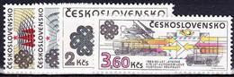 ** Tchécoslovaquie 1983 Mi 2705-8 (Yv 2525-8), /MNH) - Neufs