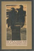 10636 Volantino - Roma Febbraio-novembre 1911 - Feste Commemorative Della Proclamazione Regno D'Italia - Einweihungen