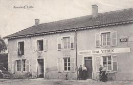 ARRAINCOURT - ARMSDORF - MOSELLE - (57) - RARE CPA 1917. - Andere Gemeenten