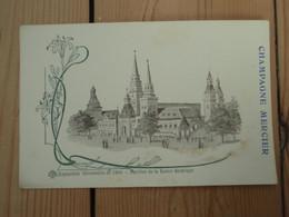 Cpa Exposition Universelle De 1900 - Pavillon De La Russie Asiatique - Champagne MERCIER. - Pubblicitari