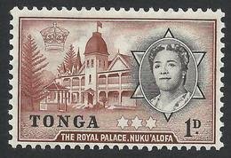 Tonga, 1 D. 1953, Sc # 100, Mi # 100, MH - Tonga (...-1970)