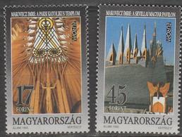 Hongrie Europa 1993 N° 3411/ 3412 ** Art Contemporain - 1993