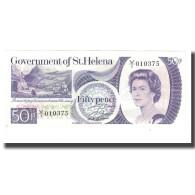 Billet, Saint Helena, 50 Pence, Undated (1979), KM:5a, NEUF - Saint Helena Island
