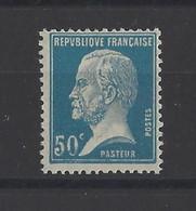 FRANCE .  YT   N° 176  ( Tache Sur La Valeur)  Neuf **  1923 - Variétés: 1921-30 Neufs