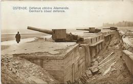 Oostende  *  Défence Côtière Allemande  - German's Coast Defence (Canon - Guerre - Oorlog ) - Oostende