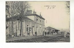 LE BREUIL SUR COUZE   - La  Gare - Otros Municipios
