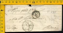 Piego Con Testo Cremona Per Piadena - 1. ...-1850 Prephilately