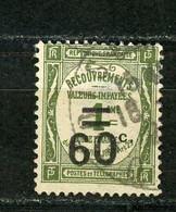 FRANCE - TAXE  - N° Yvert 52 Obl - 1859-1955 Used