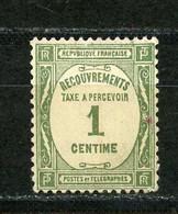 FRANCE - TAXE  - N° Yvert 55 Obl - 1859-1955 Used