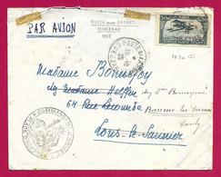 """Enveloppe Datée De 1915 - Troupes D'Occupation Au Maroc - Ouazzane - Oblitération """"Postes Aux Armées"""" - Cartas"""
