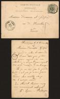 Belgique 1892 - Entier Postal Micheroux Vers Verviers - AK [1871-09]