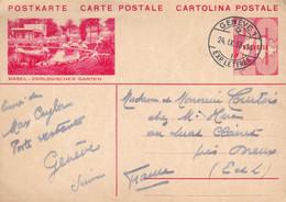Suisse 1933 - Entier Postal Illustrée BASEL/BALE - Interi Postali