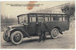 CPA  ROCHEFORT / LOIRE  Auto - Car Moderne Pour Excursions GRAVELEAU - Other Municipalities