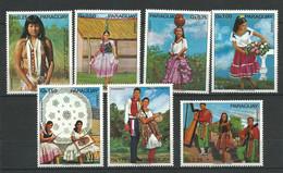 PARAGUAY  Année  1973  LOT  44  - 7  Timbres Neuf - Paraguay