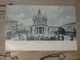 POLOGNE :  WARSZAWA : L'église De Saint Alexandre ................ 201101-1740 - Polonia
