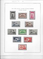 Fezzan N°43/53 - Collection Vendue Page Par Page - Timbres Neufs ** Sans Charnière - TB - Neufs