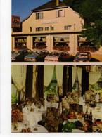 25 PONT LES MOULINS Baume Les Dames Route De Pontarlier Hotel Du Levant Restaurant, Automobiles - Other Municipalities