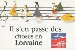 Il S'en Passe Des Choses En Lorraine Radio France Nancy Lorraine (Format Carte Postale) - Zonder Classificatie