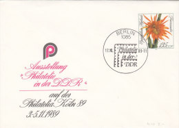 DDR U 10, Gestempelt, Mit Sonderstempel: Berlin 1085 Philatelie In Der DDR 17.10.1989 - Sobres - Usados