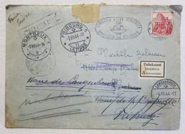 Lettre Suisse 29.VI 1944 Censure Zurich Pr Fribourg & Langenbruck Inconnu + Courrier Judaica Croix Rouge - Covers & Documents