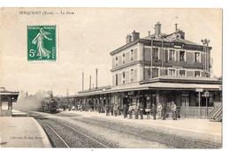 SERQUIGNY (Eure) - La Gare - Serquigny