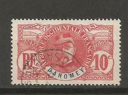 Timbre Colonie Française Dahomey Oblitéré N 22 - Usati