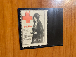 Vignette -Para - Croix Rouge /militaire - Croix Rouge