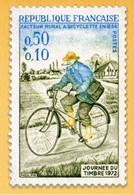 """ENTIER POSTAL** De 2021 Sur CP Avec Timbre """"JOURNEE DU TIMBRE 1975  Et Illust. """"JOURNEE DU TIMBRE 1972"""" - PAP:  Varia (1995-...)"""