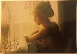 CPM 12x17 Cm Du Photographe David Hamilton - Jeune Fille Dénudée Sein Nu - Années 1970 - Autres Photographes