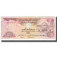Billet, United Arab Emirates, 5 Dirhams, KM:7a, TTB - United Arab Emirates